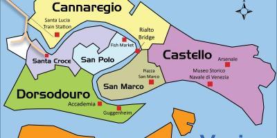 Kart Over Venezia Kart Venezia Italia